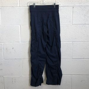 lululemon athletica Pants - Lululemon navy studio pant sz 2  has been hemmed